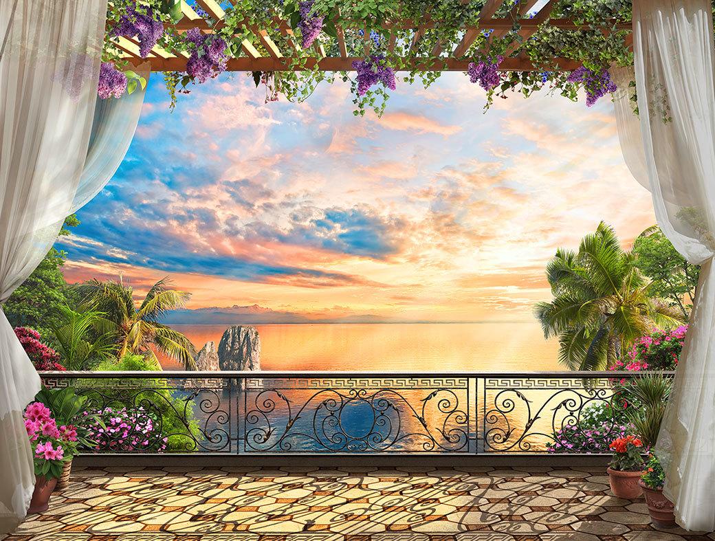 душе горит фотопечать на панелях фото для балкона может, если