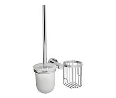 Ершик для туалета WasserKRAFT Donau K-9435 с держателем освежителя воздуха