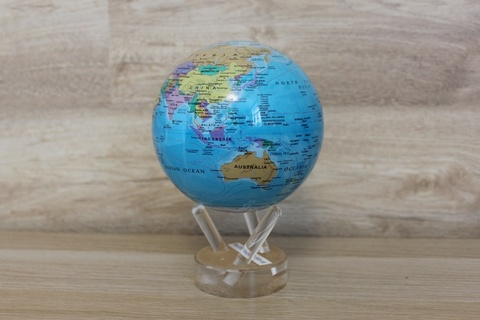 Глобус MOVA GLOBE Политическая карта мира 12 см123
