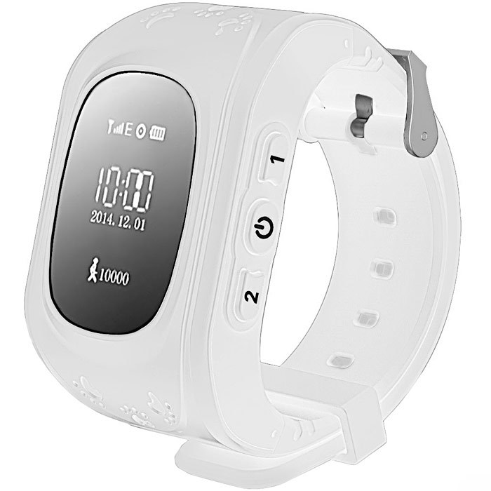 Белый цветовой вариант Smart Baby Watch q50