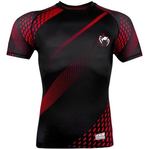 Рашгард Venum Rapid Rashguard ShortSleeves Black/Red