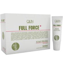 OLLIN full force пилинг для кожи головы с экстрактом бамбука 10штх15мл