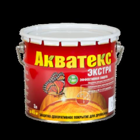 АКВАТЕКС ЭКСТРА Защитно-декоративное покрытие для древесины