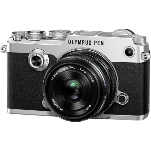 Olympus Pen-F Kit  17mm f/1.8 M.Zuiko Digital Silver