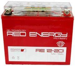 Аккумулятор 12V 20Ah (RE1220) RED ENERGY с индикатором заряда