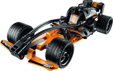 LEGO Technic: Чёрный гоночный автомобиль 42026 — Black Champion Racer — Лего Техник