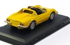 Ferrari 246 Dino GTS yellow 1:43 Eaglemoss Ferrari Collection #7
