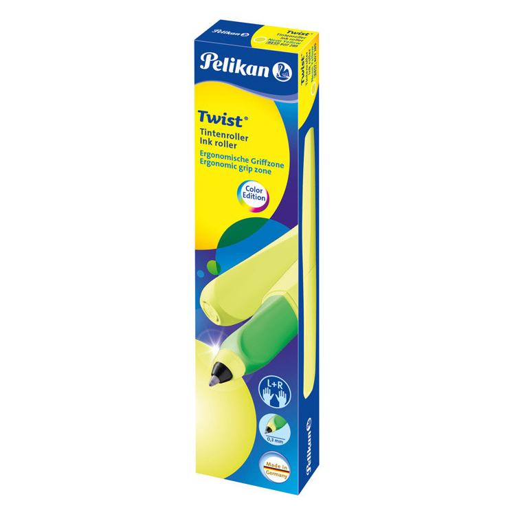 Pelikan Office Twist - Standard Yellow Neon, ручка-роллер, M