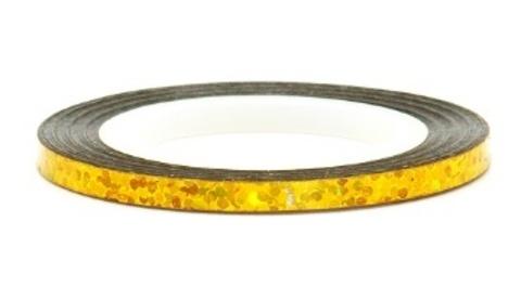 El Corazon Лента (скотч) №231 для дизайна ногтей голография золото,длина 20м