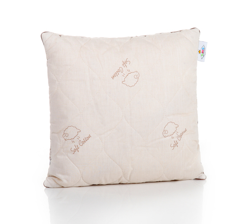 Подушка детская из шерстяного волокна коллекция