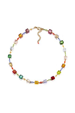 Ожерелье Carnevale Cubo мультиколор