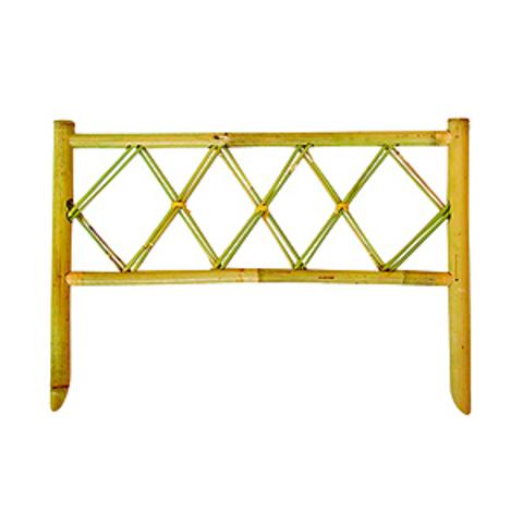 GBF1006-12 GREEN APPLE Забор бамбуковый Ромб 50*35