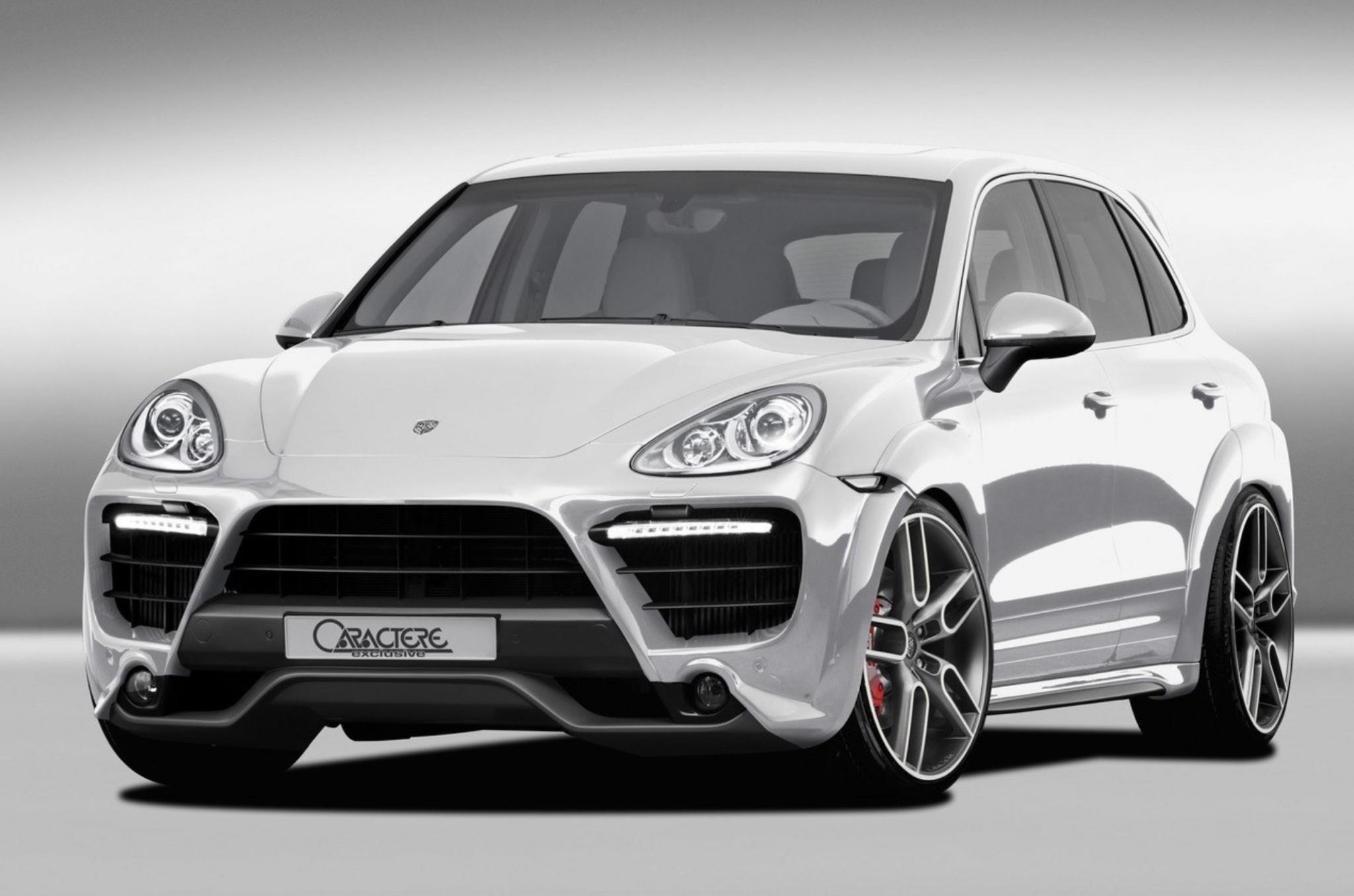 Обвес Caractere Exclusive на Porsche Cayenne