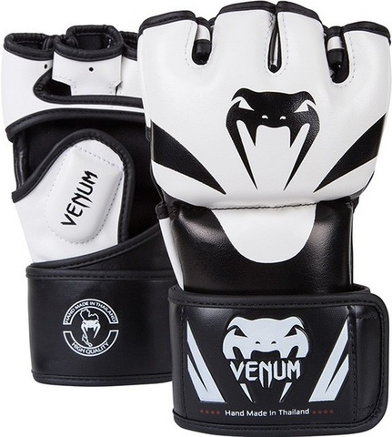 Перчатки MMA Venum Attack Gloves White