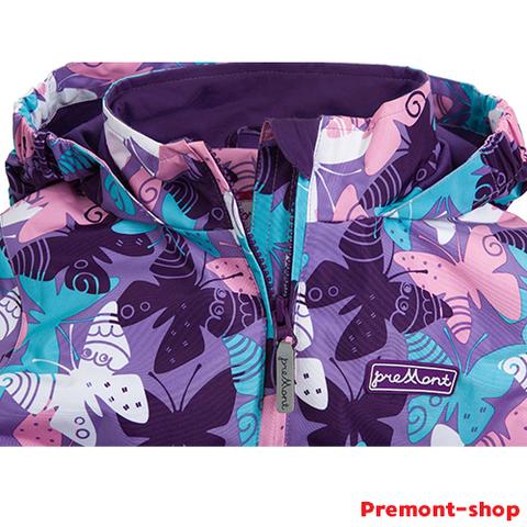 Горловина ветровки Premont Нежный Оксалис S18183 для девочек
