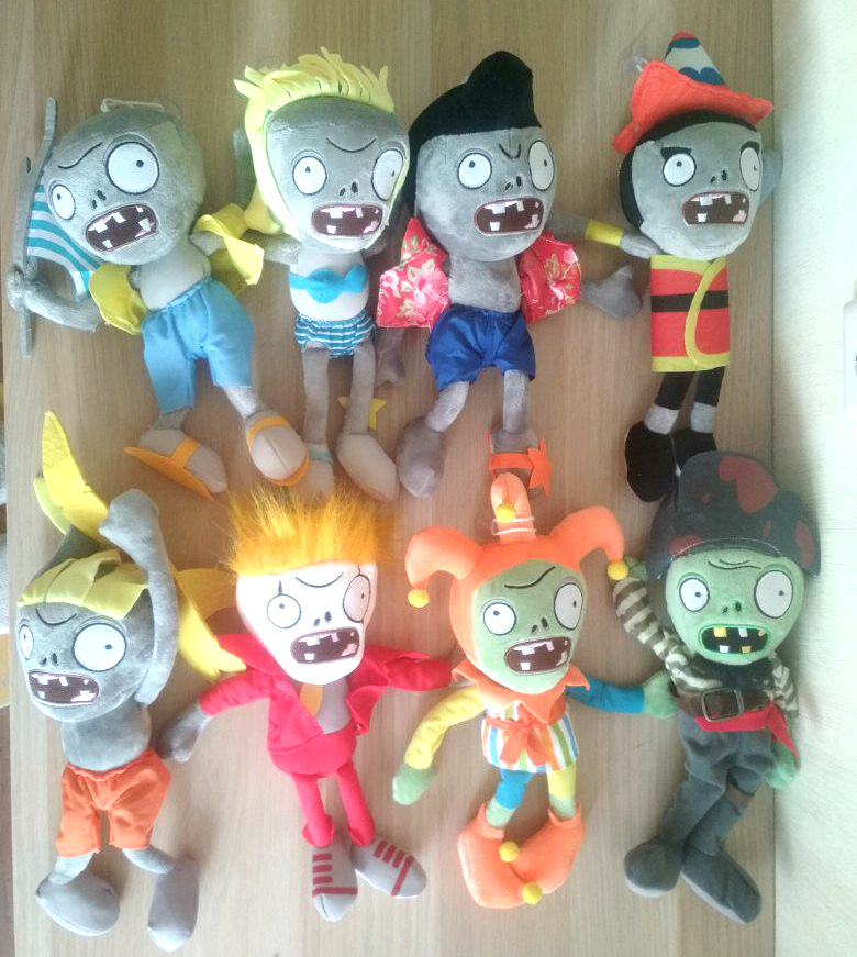 Коллекция персонажей из игры Растения против Зомби