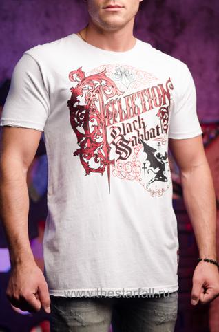 Футболка мужская Affliction Exclusive. Очень редкая из Signature Series Red Label Premium:Black Sabbath 226816