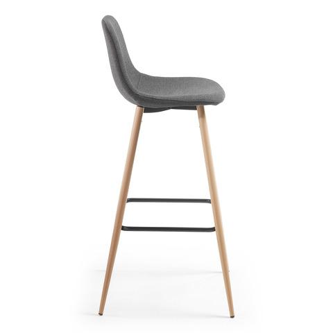Барный стул Nilson темно-серый CC0276J15