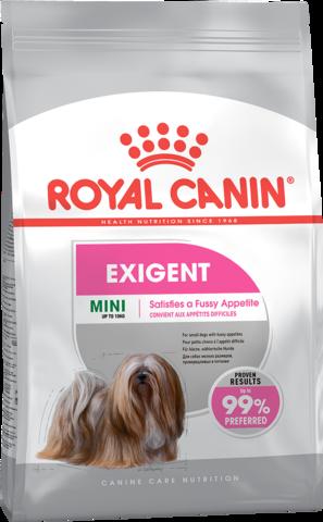 Mini Exigent - для  собак мелких размеров привередливых в питании