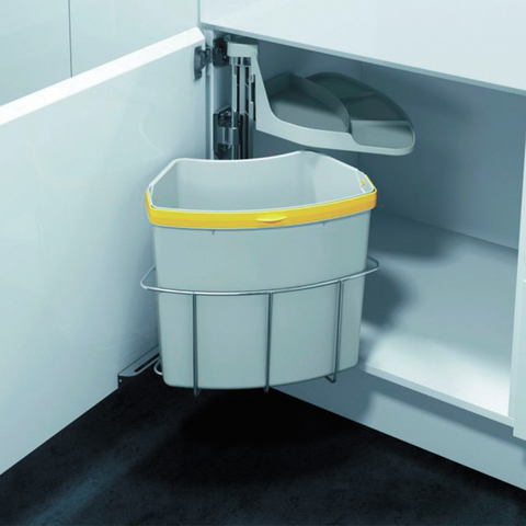 Напольный шкаф под мойку c системой утилизации, 720х600 мм