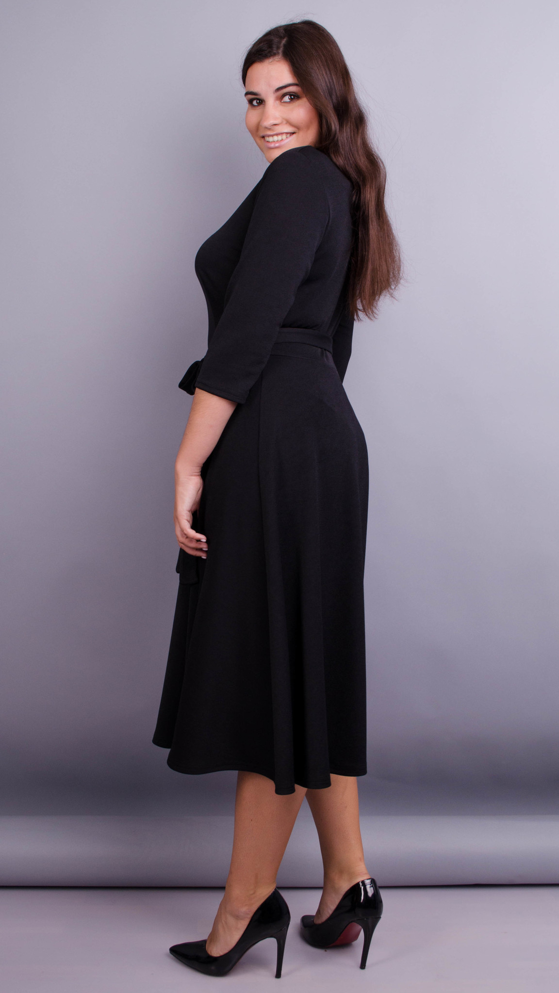 Вечернее платье Кора (черный)