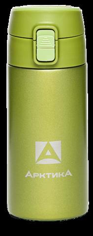 Термос (сититерм-вакуумный) Арктика (0,35 литра),зеленый
