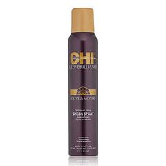 CHI Deep Brilliance Olive & Monoi Sheen Spray - Спрей-блеск для волос эластичной фиксации