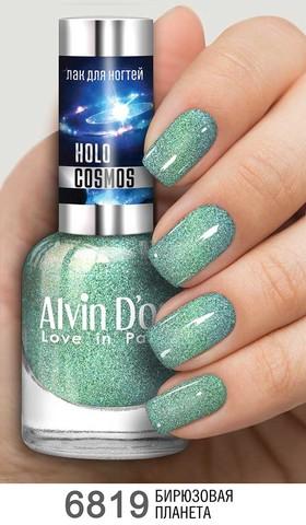Alvin D`or Лак для ногтей HOLO COSMOS тон  6819