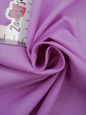 Ранфорс гладкокрашеный лиловый