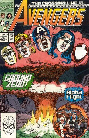 The Avengers #323