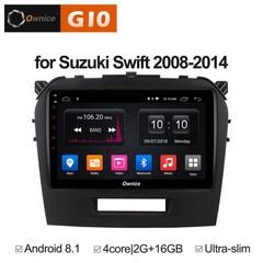 Штатная магнитола на Android 8.1 для Suzuki Swift 08-14 Ownice G10 S9621E