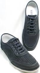 Туфли в спортивном стиле мужские Vitto Men Shoes 3560 Navy Blue.