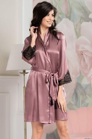 Халат Olivia 3643 розовый Mia-Amore