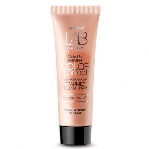 B&V Белита Витекс LAB colour Праймер Корректирующий под макияж Color Correct персиковый 20мл