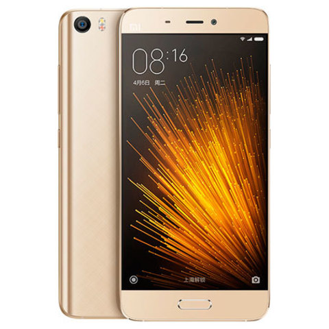 Смартфон Xiaomi Mi 5 64GB 3D Glass Gold