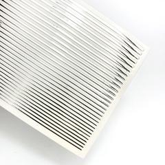 Дизайн полосочки серебро