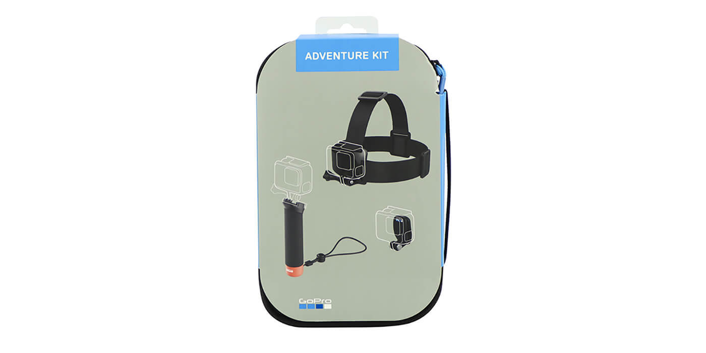 Набор аксессуаров Adventure Kit GoPro (AKTES-001) упаковка