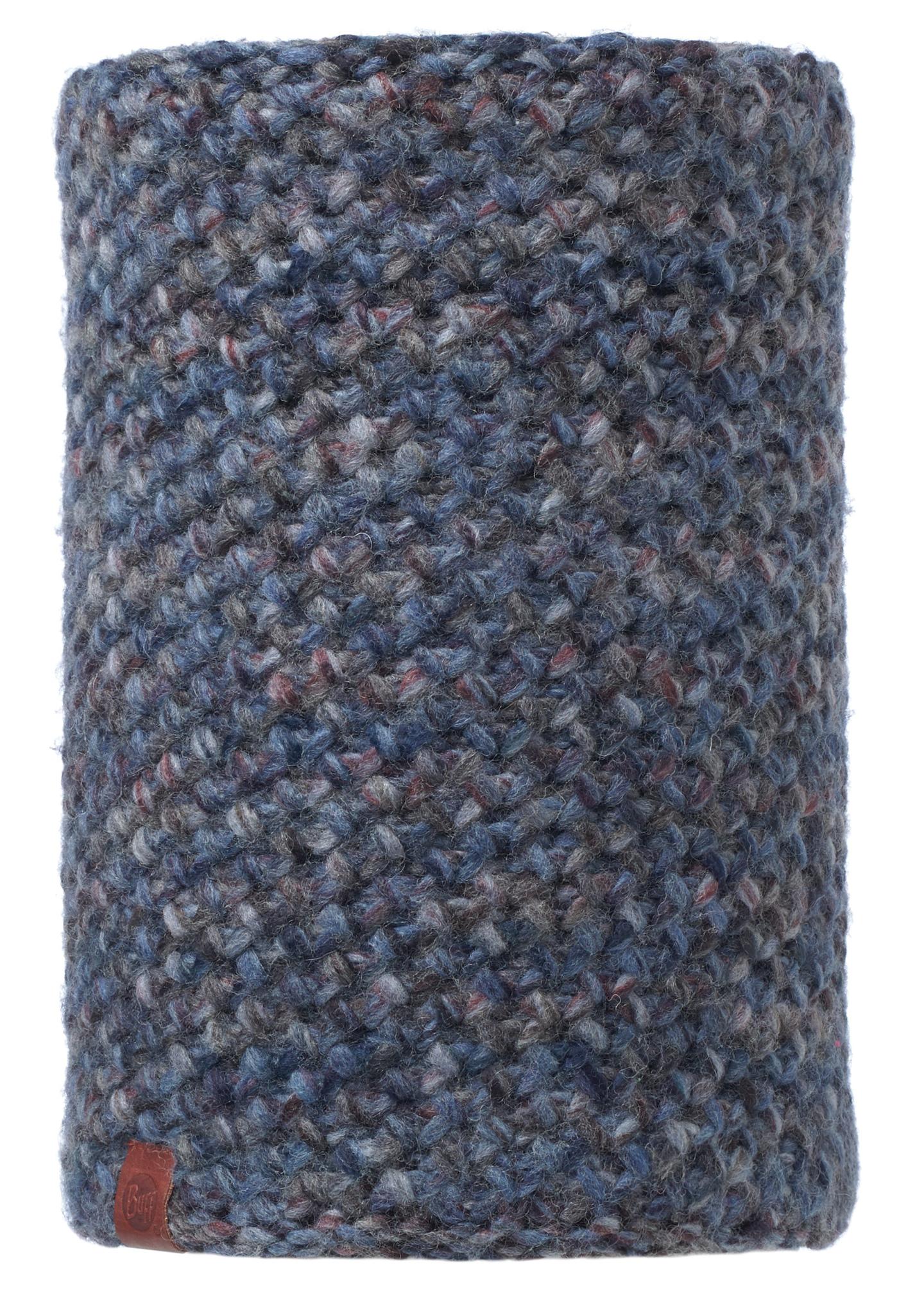 Вязаные шарфы Вязаный шарф-труба с флисовой подкладкой Buff Margo Blue 113552.707.10.00.jpg