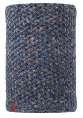 Вязаный шарф-труба с флисовой подкладкой Buff Margo Blue