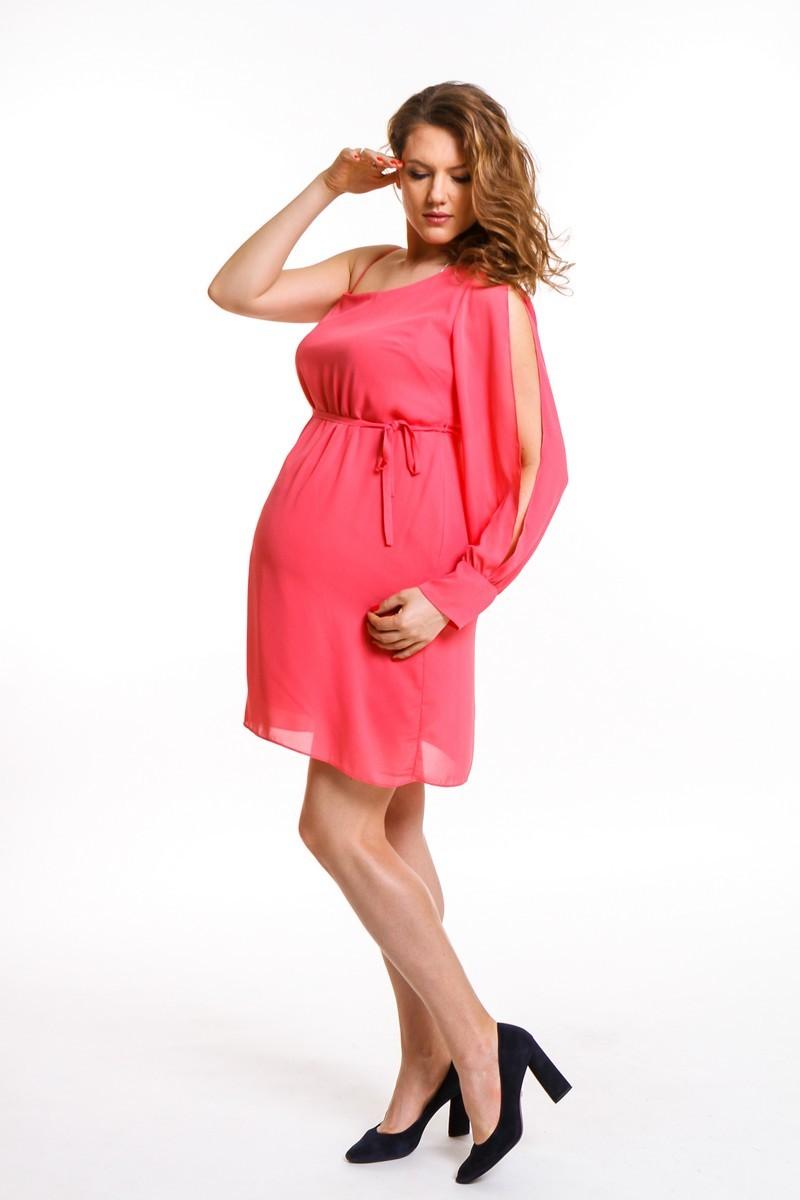 Платье для беременных 08668 розовый