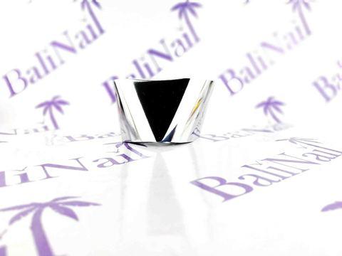 Фольга для дизайна ногтей, переводная (1 м) серебро