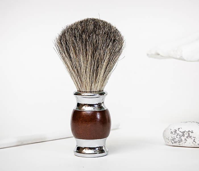 RAZ513 Помазок из натурального барсучего волоса фото 03