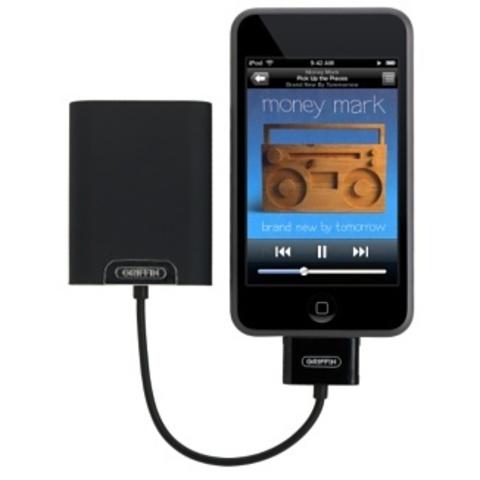 Griffin TuneJuice 3 дополнительный аккумулятор для iPhone/iPod