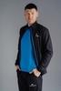 Беговой костюм Nordski Motion Black-Light Blue мужской