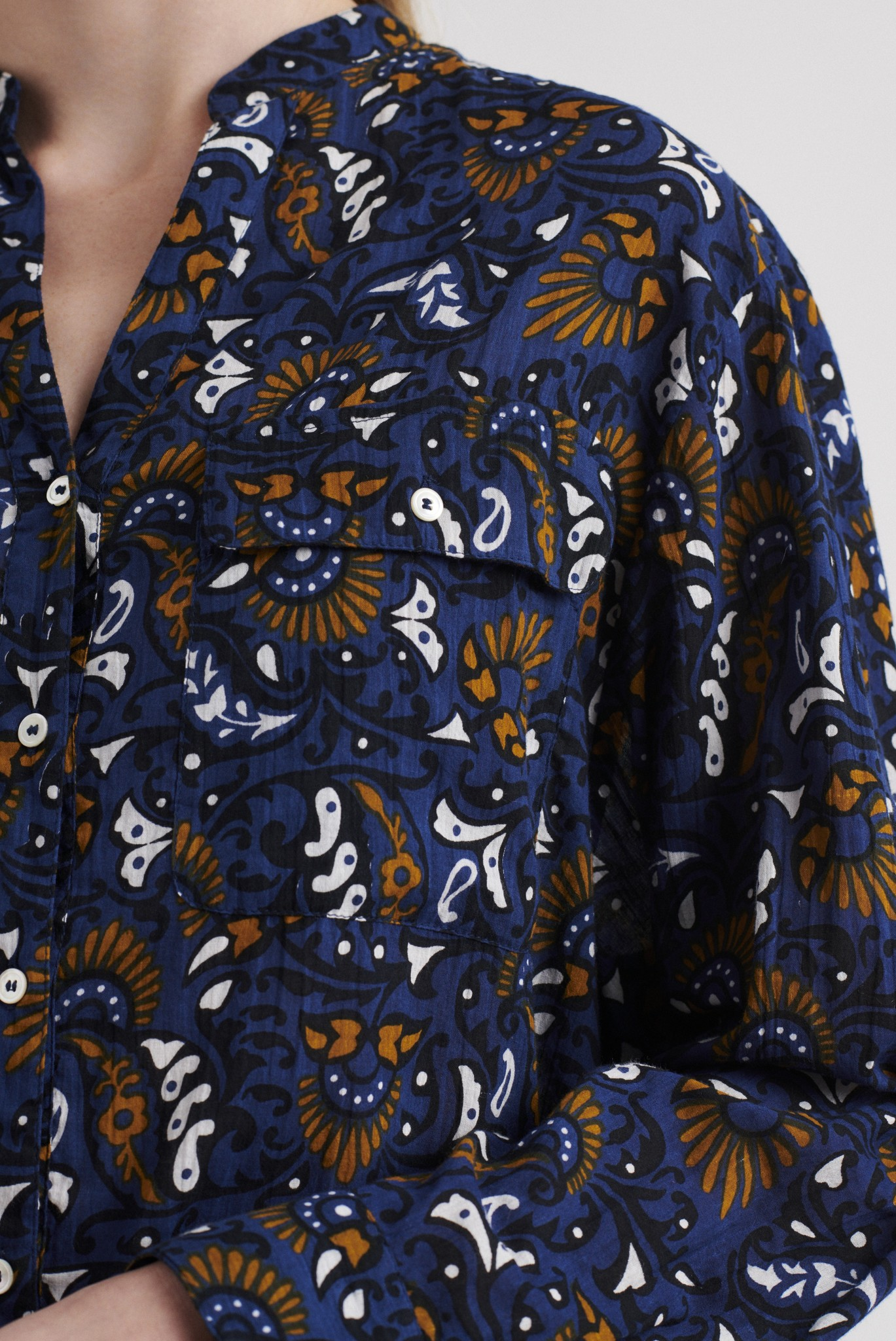 NATEO - Хлопковая блузка