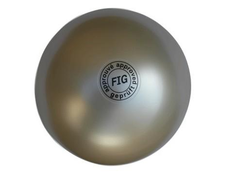 Мяч для художественной гимнастики профессиональный 19см 400грамм. Цвет белый. Одобрен международной федерацией художественной гимнасти (FIG). На мяче имеется маркировка FIG approved :(АВ2801):