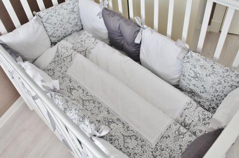 Комплект в кроватку Сумерки, на 4 стороны кроватки