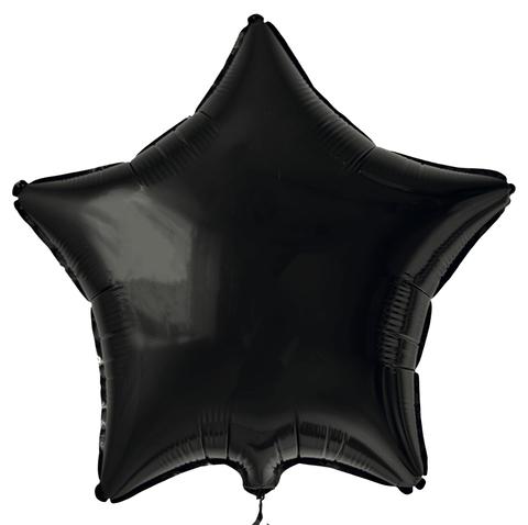 Звезда большая (85см) - черная