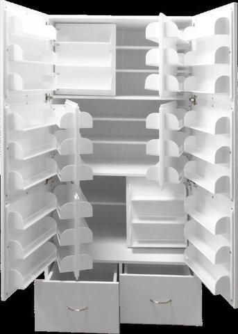 Шкаф медицинский для фармпрепаратов ШМФ-01  (мод.2) - фото