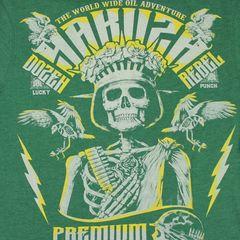 Футболка зеленая Yakuza Premium 2414